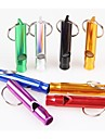 Dog Training Whistles Ultrasonic Portable Red Black Green Blue Pink Purple Gold Silver Alloy