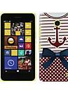 Ancora nautica Hard Case plastico para Nokia Lumia 630