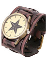 Men's Personalized Retro Leather Bracelet Watch Cool Watch Unique Watch