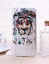 motif de lion TPU souple pour iPhone 6