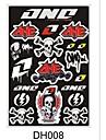 горячие продажи мотоциклов наклейки наклейки для Suzuki грязь пит карманный велосипед ATV гонки мотоцикла автомобиля