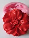 Flower Baking Fondant Cake Chocolate Candy Mold,L4.8cm*W4.8cm*H1.2cm