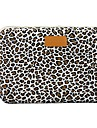 "14.3"" 15.6"" Canvas Leopard Laptop Cover Shakeproof Case for MacBook DELL ThinkPad SONY HP SAMSUNG"