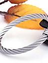 pulseiras de abertura de aco titanio moda personalidade dos homens