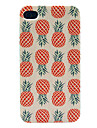 IPhone 4/4S için ananas Desen Hard Case