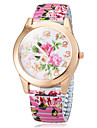 Women's Flower Color Dial The Elastic  Flower Band Quartz Bracelet Watch (Assorted Colors) Cool Watches Unique Watches