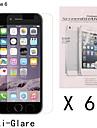 6 pcs anti-impressão digital de alta definição protetor de tela frontal para iphone 6s / 6
