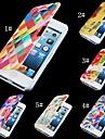 Para Capinha iPhone 5 Case Tampa Flip Estampada Magnética Corpo Inteiro Capinha Desenho Rígida Couro PU para iPhone SE/5s iPhone 5