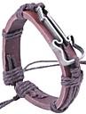 2015 Fashion Guitar Pattern Alloy Leather Bracelet
