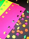 5 цветовых наклейки бумаги для пунша (5 шт)