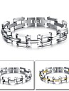 Titanium Steel Bracelet Gold Men Between Cool Fashion and Personality