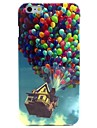 Colorful Balloons Pattern TPU Soft Case for  iPhone 6/6S