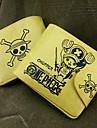 Bolsa / Carteiras Inspirado por One Piece Tony Tony Chopper Anime Acessorios de Cosplay Carteira Amarelo Pele PU Masculino