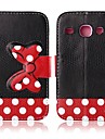 Red Bowknot Patterns Leather Full Body Case for Samsung Galaxy S3 I9300