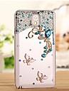 diamants de luxe papillon cas de couverture arrière pour Samsung Galaxy Note 3 n9006 (couleurs assorties)