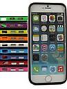 용 아이폰6케이스 / 아이폰6플러스 케이스 충격방지 케이스 범퍼 케이스 단색 소프트 TPU iPhone 6s Plus/6 Plus / iPhone 6s/6