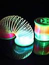 Coway den nye lysende blinkende regnbue ring natt