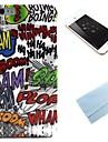 ha-ha motif tpu couverture souple de retour avec film pour 6s iphone plus / 6 plus
