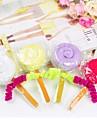 toalla creativa de fibra forma de regalo de cumpleanos del lollipop (color al azar)