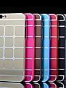 Pour Coque iPhone 6 / Coques iPhone 6 Plus Plaque Coque Coque Arriere Coque Forme Geometrique Dur AluminiumiPhone 6s Plus/6 Plus / iPhone