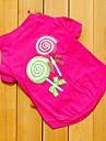 Cat / Dog Shirt / T-Shirt / Clothes/Clothing Rose Summer Cartoon Wedding / Cosplay