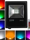 1 Высокомощный LED 1600 LM RGB На пульте управления LED прожекторы AC 85-265 V