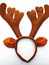 크리스마스 파티 귀여운 사슴 뿔 모자 머리 헤드 밴드