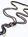 Women\'s Vintage Necklaces Alloy Snake Fashion Simple Style Black Red Blue Pink Golden Jewelry Daily 1pc
