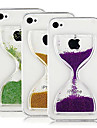 Flowing Hourglass Pattern Back Case for iPhone4/4S (Assorted Color)