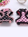 Dog Harness Black / Pink Textile