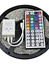 Z®ZDM Waterproof 5M 72W 300x5050 RGB SMD  Light LED Strip Light 44Key IR Remote Controller Kit (DC12V)