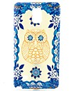 For Samsung Galaxy Note Pattern Case Back Cover Case Owl TPU Samsung Note 4