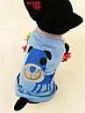 cachorro grande boca t-shirt padrao de algodao para caes (xs-l)