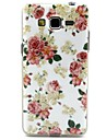 Rose Pattern TPU Soft  Cover for Galaxy Grand Neo I9060