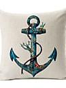 Cotton/Linen Pillow Cover , Nautical Modern/Contemporary