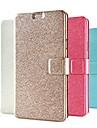 padrão de seda do bicho-pu couro caso de corpo inteiro com slot de suporte e cartão para Galaxy Note 4