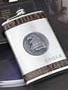 персональный подарок серебряный 9oz нержавеющей стали хип колбу - орел