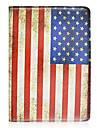 la pleine cas de corps de modele de drapeau americain avec support et fente pour carte pour 10,5 sm-t800 samsung galaxy tab