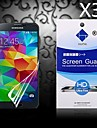 HD Screen Protector with Dust-Absorber for Samsung Galaxy S5 I9600 (3 PCS)