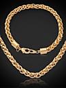 Bijoux-Colliers decoratifs / Bracelet(Plaque or)Mariage / Soiree / Quotidien / Decontracte / Sports Cadeaux de mariage