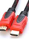 YONG WEI® 15M 49.2FT HDMI V1.4 3D 1080P Male to Male High Speed Cable