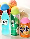 stopper chapeu de estilo japones em forma de garrafa (cor aleatoria)