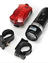Bike Light Bike Lights / Front Bike Light / Rear Bike Light LED Waterproof 100 Lumens Battery Others BlackCamping/Hiking/Caving /