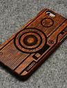 용 아이폰6플러스 케이스 케이스 커버 뒷면 커버 케이스 하드 나무 용 iPhone 6s Plus iPhone 6 Plus