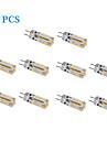 Faretti LED G4 2W 170 LM Bianco caldo / Luce fredda 10 pezzi DC 12 V