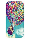 Fire Balloon Pattern Hard Back Case for iPhone 4/4S