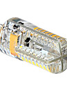 4W G4 LED Doppel-Pin Leuchten 72 SMD 3014 360 lm Warmes Weiss / Kuehles Weiss DC 12 / AC 12 / AC 24 / DC 24 V