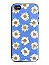 синий и белый хризантемы шаблон жесткий футляр для iPhone 5 / 5S
