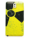 Radiation Pattern Thin Hard Case Cover for Samsung Galaxy Note 3