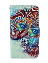 For Samsung Galaxy Case Wallet / Card Holder / with Stand / Flip / Pattern Case Full Body Case Elephant PU Leather Samsung Core Plus